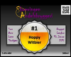 #1 Hoppy Witbier logo