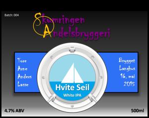 #4 Hvite Seil